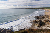 Praa Sands Beach Cornwall — Stock Photo