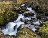 Waterfall at Watendlath Tarn — Stock Photo