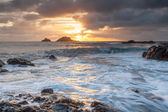 Priests Cove Cape Cornwall — Stock Photo