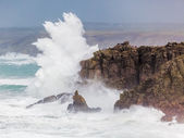 Cornish Storm at Sennen Cove — Stock Photo