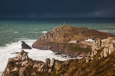 Cornish Winter Storm — Stockfoto