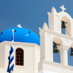 Santorini Church — Stock Photo #41060555