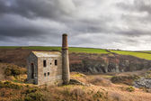 Prince of Wales quarry Cornwall — Stock Photo