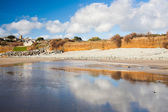 Perranuthnoe Beach Cornwall England — Stock Photo