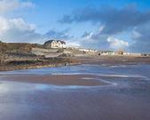 Crooklets beach Bude Cornwall — Stock Photo