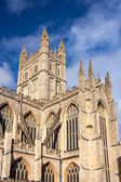 Bath Abbey Somerset England — Stock Photo