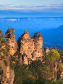 The Three Sisters From Echo Point, Blue Mountains National Park, — Stock Photo