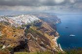 Fira Santorini Greece — Stock Photo