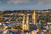 Truro Cathedral Cornwall England — Stock Photo