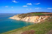 Alum Bay The Needles Isle Of Wight — Stock Photo