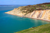 Alum Bay The Needles Isle Of Wight — Stock Photo