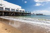 Sandown Esplanade Isle Of Wight — Stock Photo
