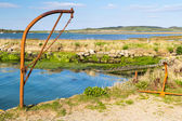 Newtown Harbour National Nature Reserve Isle Of Wight England — Stock Photo