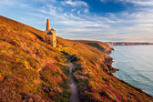Wheal Coats near St Agnes Cornwall — Stock Photo