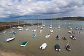 New Quay Harbour Wales — Stock Photo