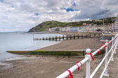 Aberystwyth wales storbritannien — Stockfoto