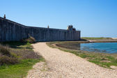 Hurst Castle Keyhaven near Milford-on-Sea  — Stock Photo