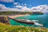 Portreath Cornwall England — Stock Photo