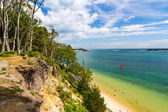 Brownsea Island in Poole Harbour — Stock Photo