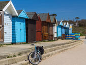 Braci Cliff Beach Dorset — Zdjęcie stockowe