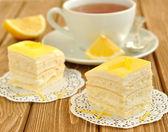 Lemon cakes — Stock Photo