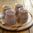 Chocolate PannCotta — Stock Photo #15358907