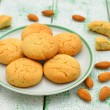 Almond cookies - Foto Stock