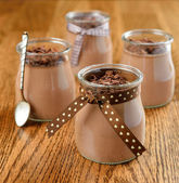 Chocolate dessert — Stock Photo