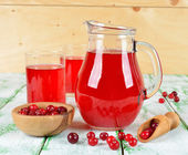 Cranberry juice — Stock Photo