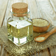 Stock Photo: Sesame oil