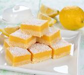 Lemon bars — Stock Photo
