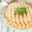 Flat bread — Stock Photo