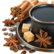 Coffee with spices — Stock Photo #24513827