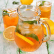 Iced tea — Stockfoto