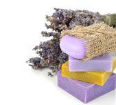 Lavendel seife — Stockfoto