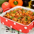 Vegetarian vegetable stew — Stock Photo #27440973