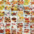 Various desserts — Stock Photo