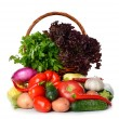 Fresh various vegetables — Stock Photo #27762005