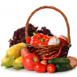 Fresh various vegetables — Stockfoto