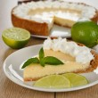 Key lime pie — Stock Photo