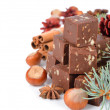 Stock Photo: Chocolate fudge