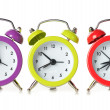 Stock Photo: Multicolored clock