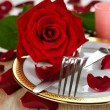 Romantic Dinner — Stock Photo
