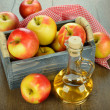 Apple cider vinegar — Foto de Stock