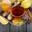 Tea with ginger — Stock Photo #32650781