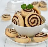 Cookies com chocolate — Foto Stock