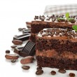 Stock Photo: Chocolate cakes