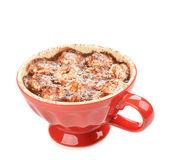 Chocolate quente com marshmallows — Fotografia Stock