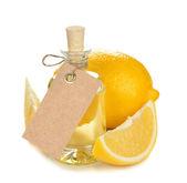 Aceite esencial del limón — Foto de Stock