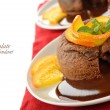 Chocolate fondant — Stockfoto #39590269